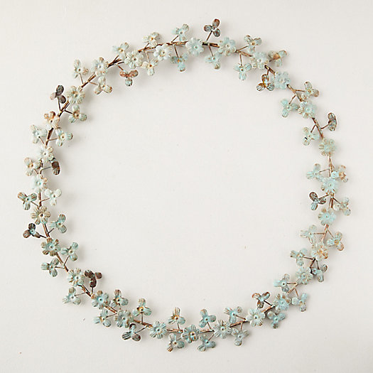 View larger image of Dainty Floral Iron Wreath