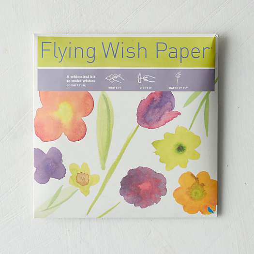View larger image of Blooming Floral Wish Papers