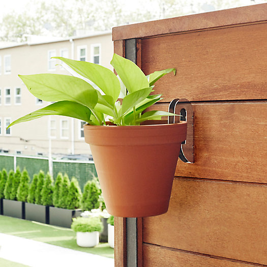 View larger image of Stainless Steel Planter Hangers, Set of 3