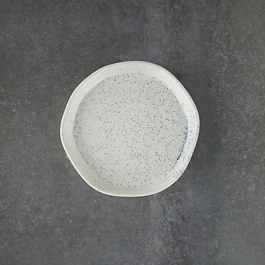View larger image of Speckled Ceramic Plant Tray, Small
