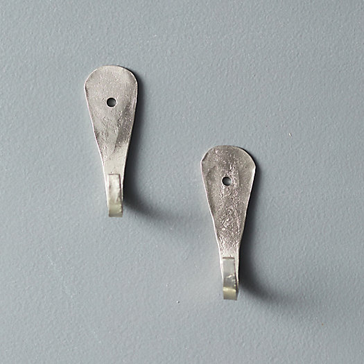 View larger image of Forged Iron Wall Hook, Set of 2