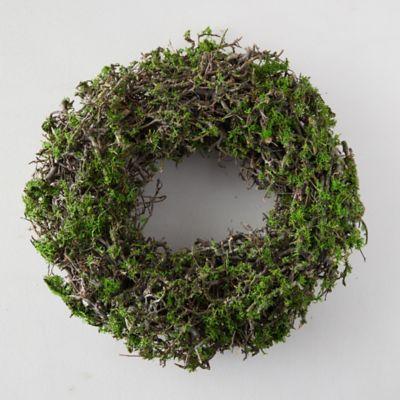 Wild Bonsai + Reindeer Moss Wreath