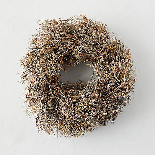 View larger image of Petite Dried Lavender Wreath