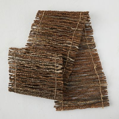 Natural Date Palm Wood Runner