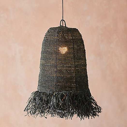 View larger image of Woven Fringe Pendant