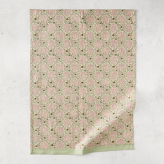 View larger image of Pink Ivy Cotton Dish Towel