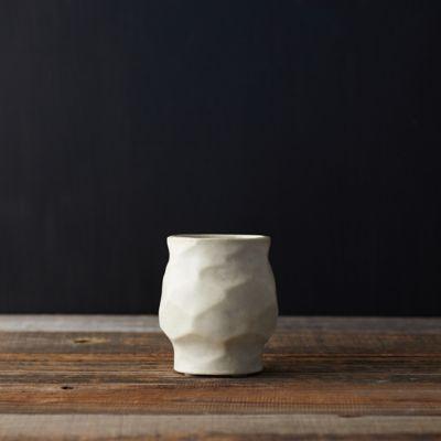 "Ceramic Footed Pot, 7"""