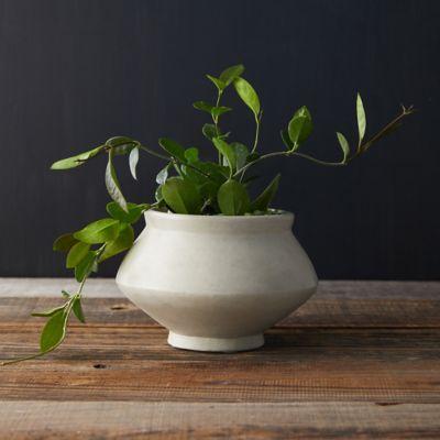 Flared Ceramic Pot
