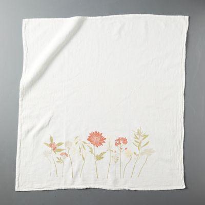 Joyful Flowers Dish Towel