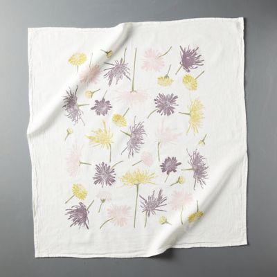 Chrysanthemums Dish Towel