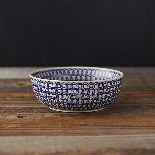 View larger image of Blue Geo Ceramic Bowl