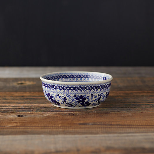 View larger image of Blue Poppies Ceramic Bowl