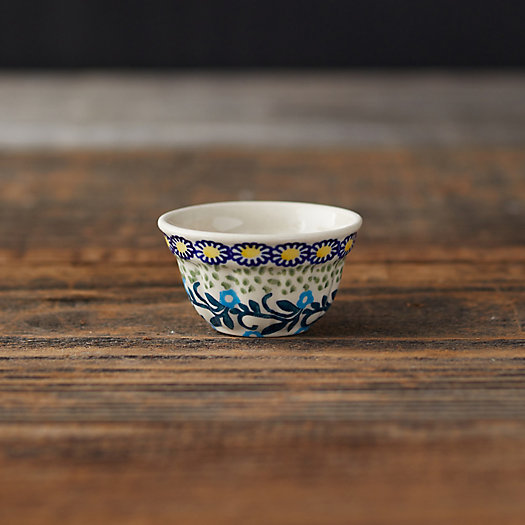 View larger image of Yellow Flowers Ceramic Pinch Bowl