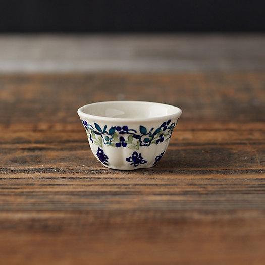 View larger image of Butterfly + Flower Ceramic Pinch Bowl