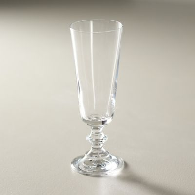 Stacked Stem Champagne Flute