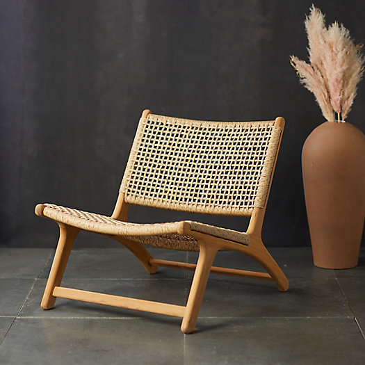 View larger image of Havana Open Weave Armless Chair