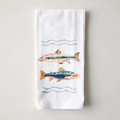 Fish Friends Dish Towel