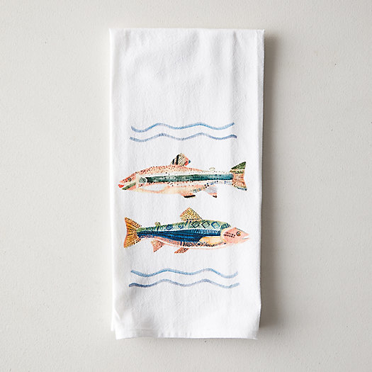 View larger image of Fish Friends Dish Towel