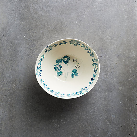 View larger image of Blue Daisy Bowl, Small