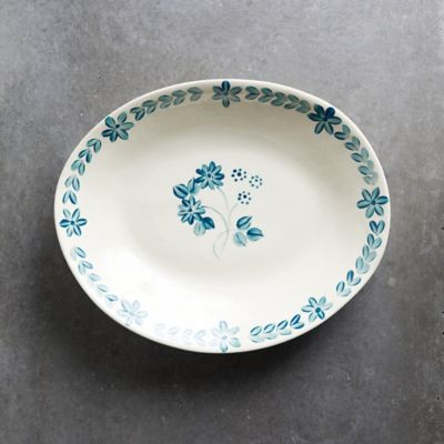 Blue Daisy Serving Bowl, Extra Large