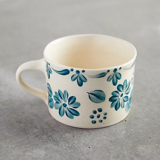 View larger image of Blue Daisy Mug