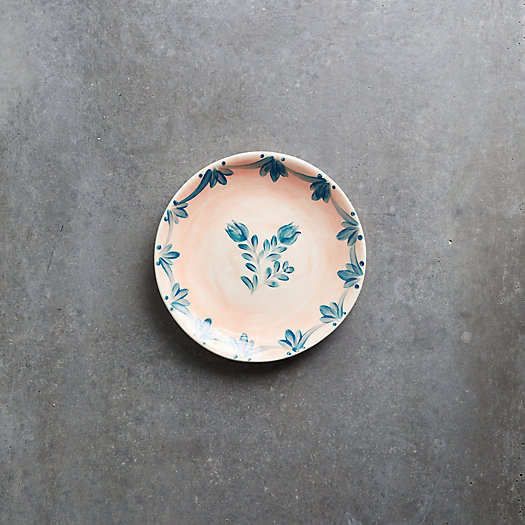 View larger image of Pink Wash Blue Daisy Side Plate
