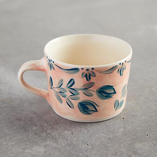 View larger image of Pink Wash Blue Daisy Mug