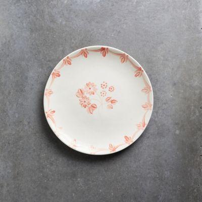 Pink Daisy Serving Platter, Round