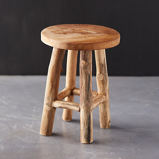 View larger image of Teak Plant Stand, Tall