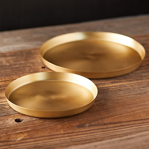 View larger image of Brass Plant Tray