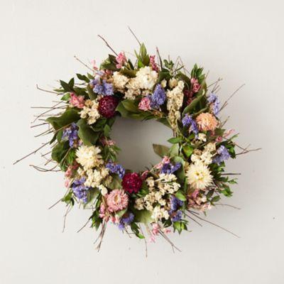 Preserved Spring Garden Wreath
