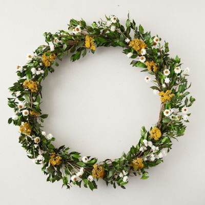 Preserved Spring Sun Wreath