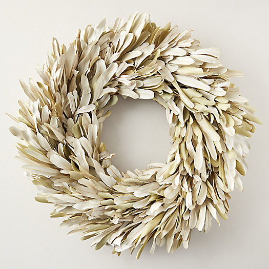 View larger image of Bleached Leaf Wreath
