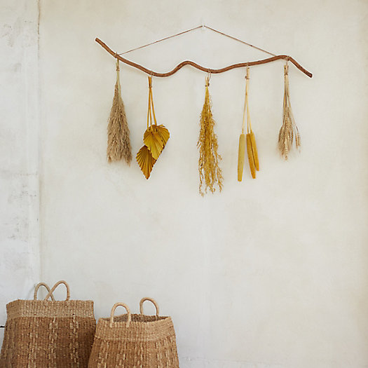 View larger image of Dried Flowers Wall Hanging