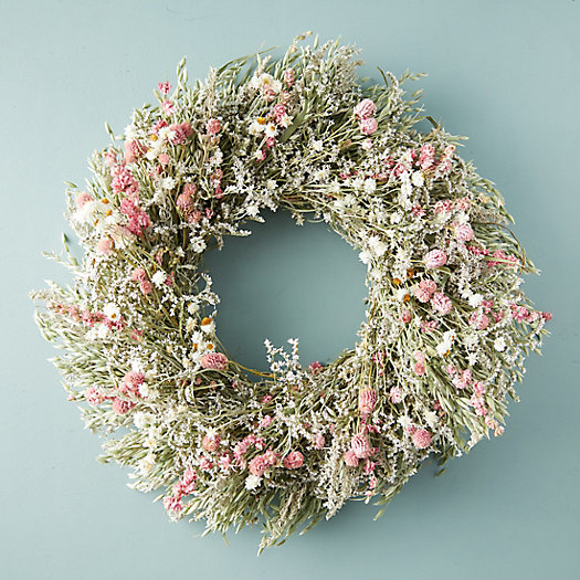 View larger image of Preserved Pink Posey Wreath