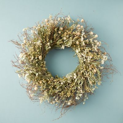 Preserved Spring Meadow Wreath