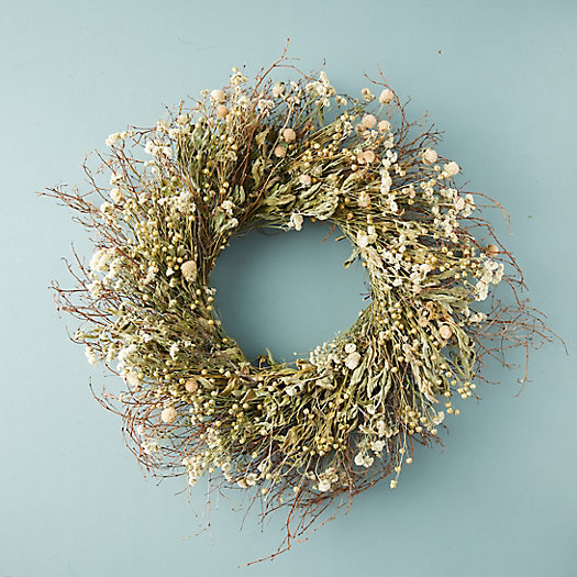 View larger image of Preserved Blooming Meadow Wreath