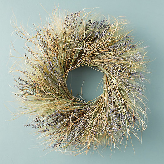 View larger image of Preserved Lavender Tumbleweed Wreath