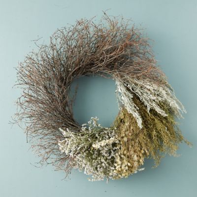 Preserved Floral Gradient Wreath