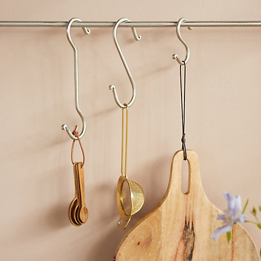 View larger image of Forged Iron S Hooks, Set of 2