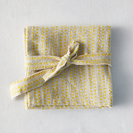 View larger image of Ripples Linen Napkin