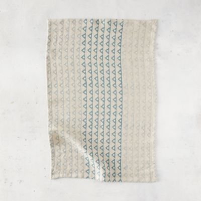 Angles + Spheres Linen Dish Towel