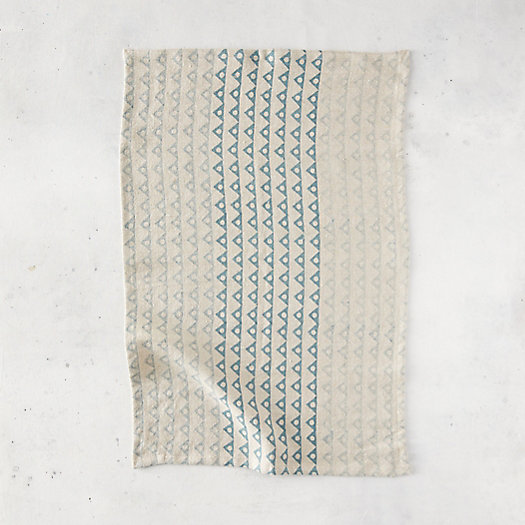 View larger image of Angles + Spheres Linen Dish Towel