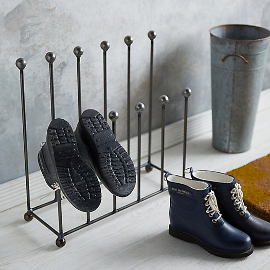 View larger image of Steel Garden Boot Stand