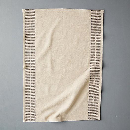 View larger image of Stripe Edge Cotton Dish Towel