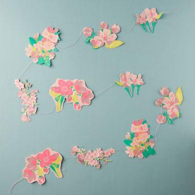 Blossom Paper Garland