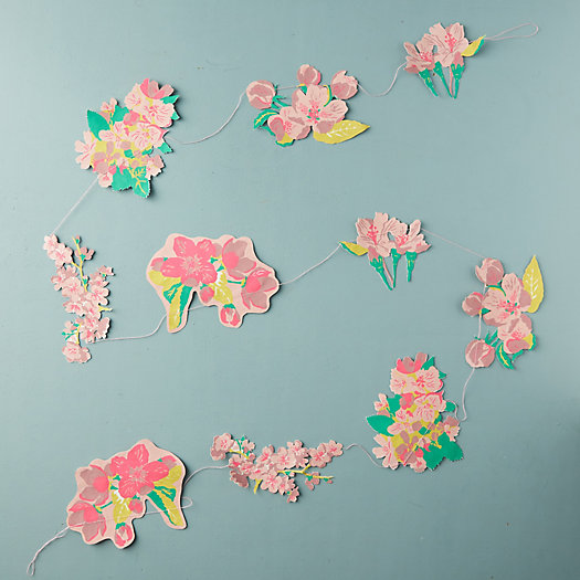 View larger image of Blossom Paper Garland