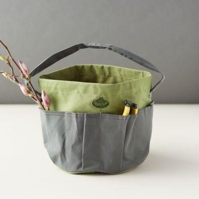 Canvas Garden Utility Bucket Bag