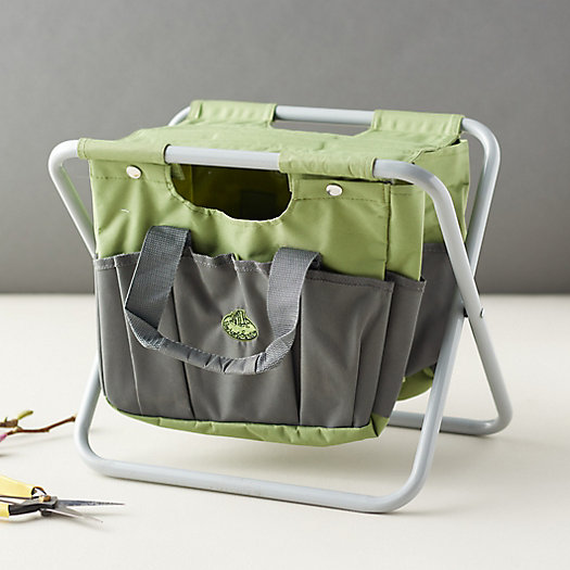 View larger image of Canvas Carry-All Garden Stool