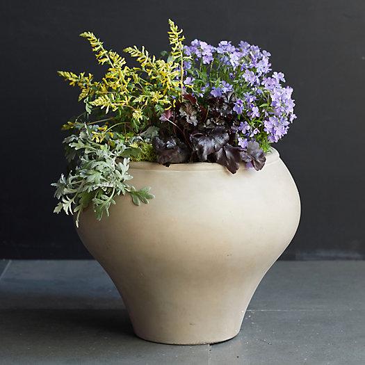 View larger image of Fiber Vase Planter, Natural